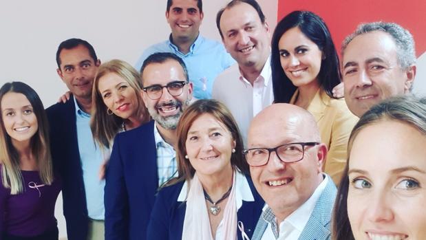 Comité regional de Ciudadanos en Canarias en un «selfie» a finales de 2018