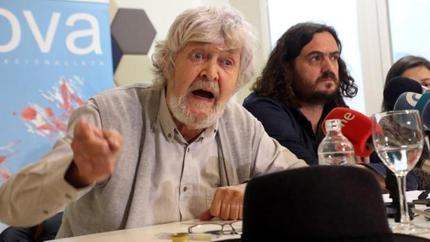 El histórico dirigente nacionalista, Xosé Manuel Beiras