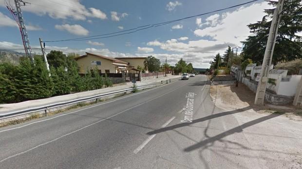 Carretera M-607 a la altura de Colmenar Viejo