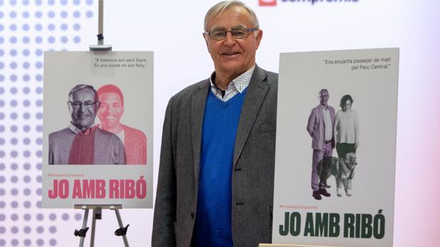 Imagen del alcalde de Valencia, Joan Ribó, tomada este jueves