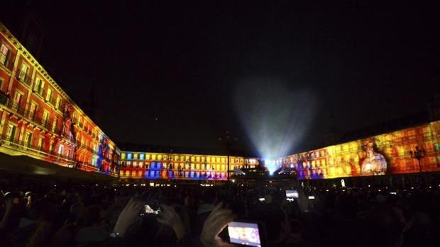 La Plaza Mayor brinda tres nuevas oportunidades para ver su célebre «vídeo mapping»