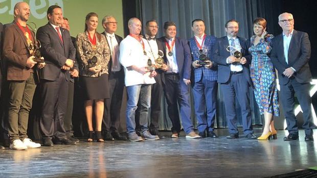 Entrega de los premios anuales de la guía gastronómica insular ¡Qué Bueno!
