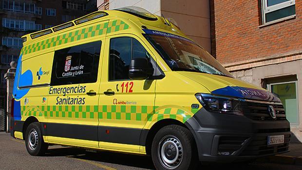 Foto de archivo de una ambulancia