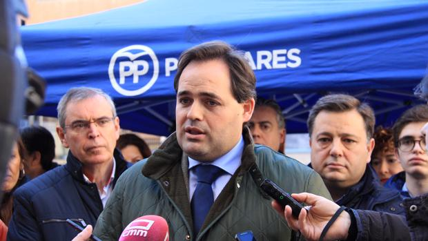 Paco Núñez en un acto celebrado en al capital albaceteña