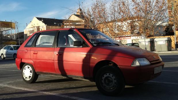 Vehículo con más de 25 años de antigüedad