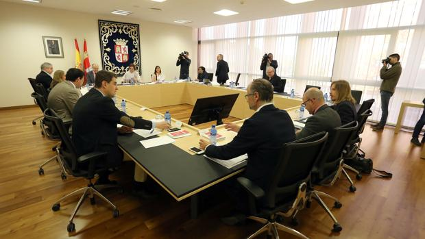 Reunión de la Junta de Portavoces de las Cortes