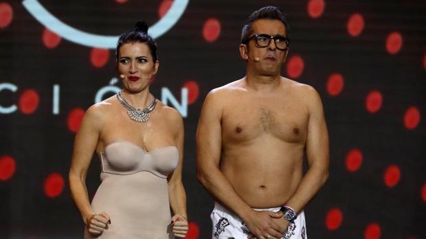 Silvia Abril y Andreu Buenafuente, en la última gala de los Goya en Sevilla