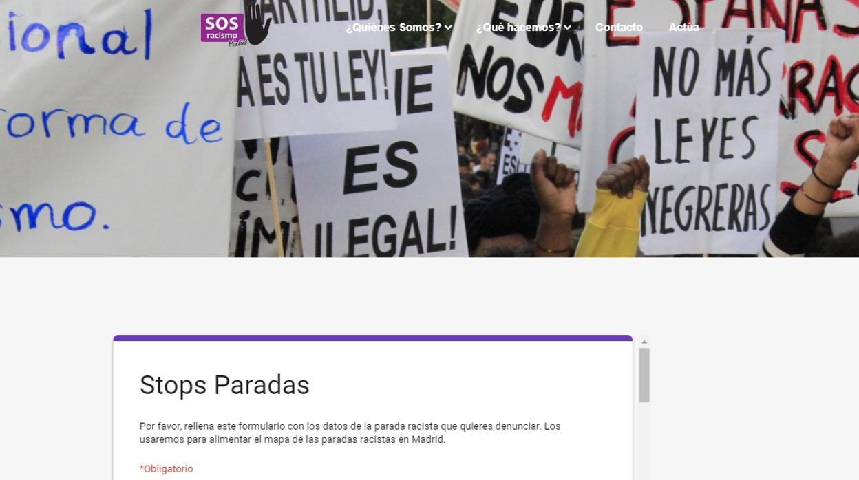 Polémica iniciativa de SOS Racismo contra el trabajo de la Policía Local