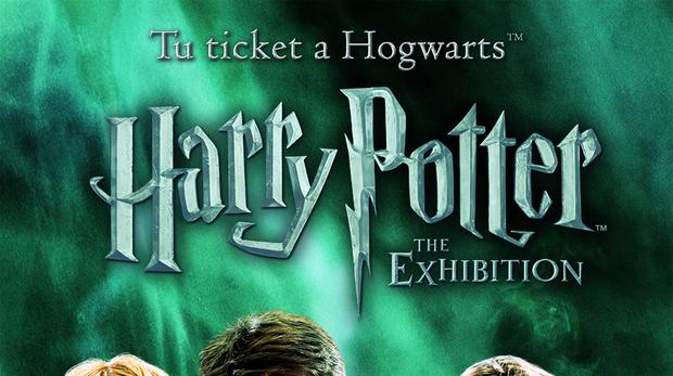 Cartel de «Harry Potter: The Exhibition»