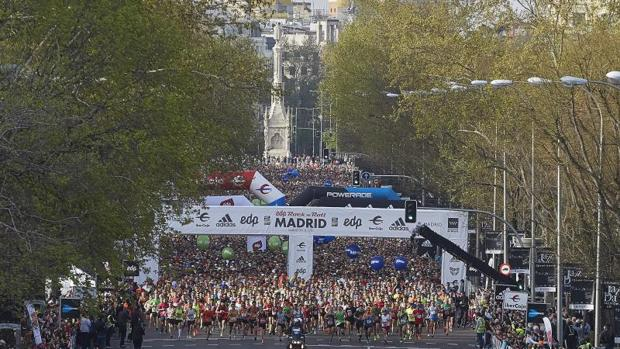 El Maratón de Madrid en ediciones pasadas