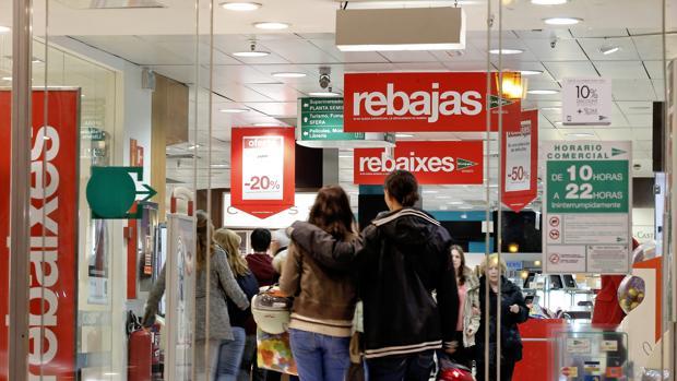 Imagen de un centro comercial de Valencia