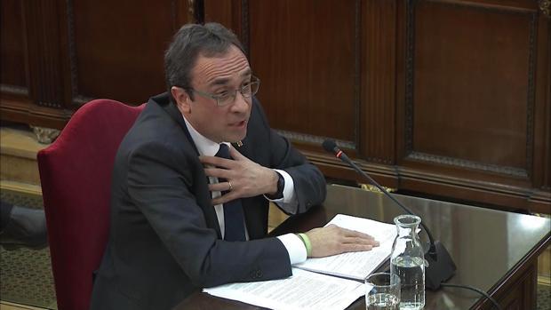 Josep Rull durante su declaración