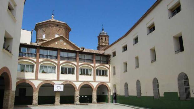 Colegio de los escolapios de Alcañiz, en el que estuvo destinado un acusado de abusos sexuales