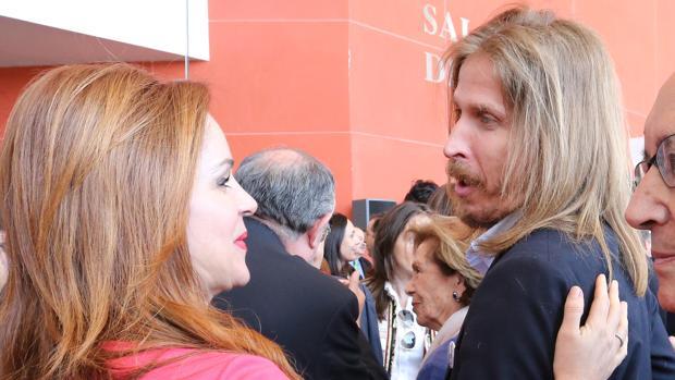 Silvia Clemente y Pablo Fernández, en una imagen de archivo