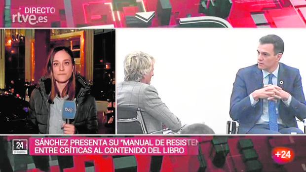 El Canal 24H de TVE emitió en directo el acto de presentación