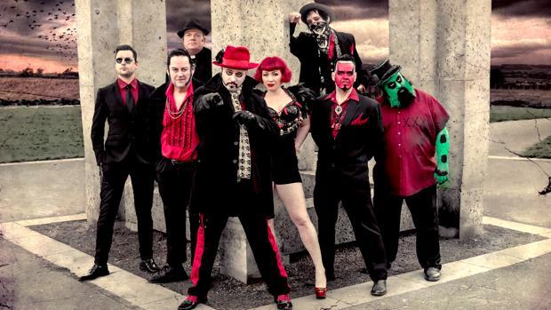 Los integrantes The Urban Voodoo Machine marcharán en el desfile
