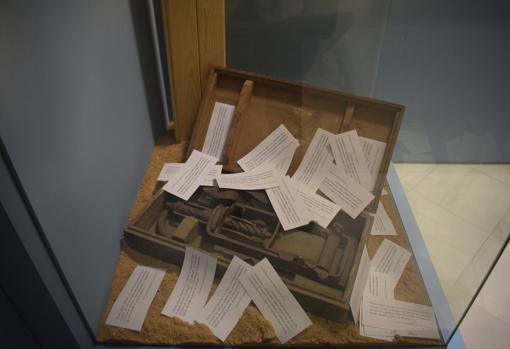 En el museo se conserva el garrote vil con el que se aplicaba la pena de muerte