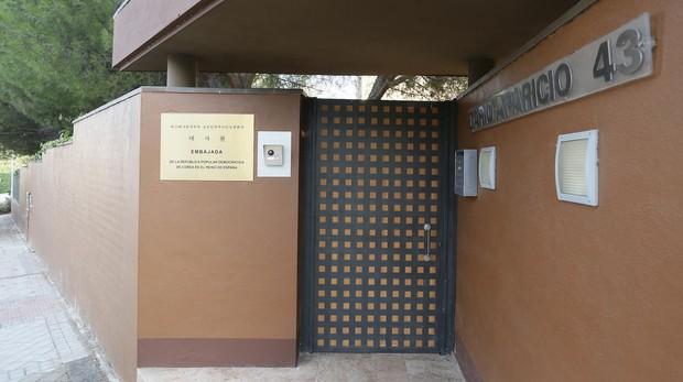 Resultado de imagen de embajada de corea Madrid