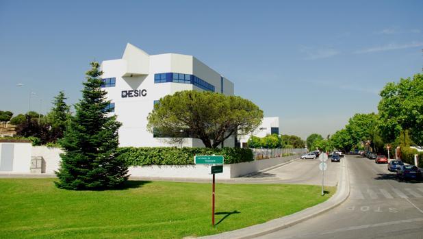 Instalaciones de la Escuela de Negocios y Centro universitario (ESIC), en Pozuelo de Alarcón