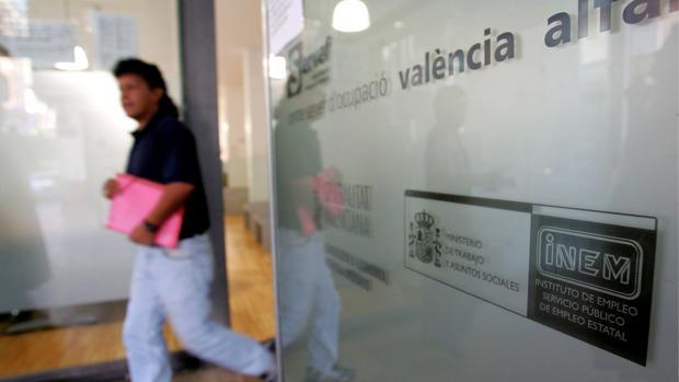 Oficina de desempleo en Valencia