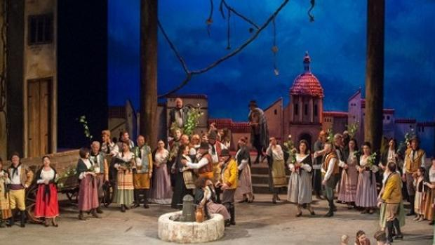 La Opera Nacional de Moldavia, que actuó el domingo en el Palacio de Congresos de Toledo, hizo bien su trabajo y gustó al público asistente que premió con sus aplausos los amables saludos de músicos y cantante