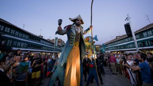 Una actuación en la Plaza Mayor de Almagro (Ciudad Real)