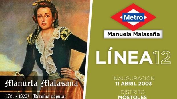 Madrid Cartel elaborado por el usuario de Twitter para explicar quién fue  Manuela Malasaña 697d554ccaa77