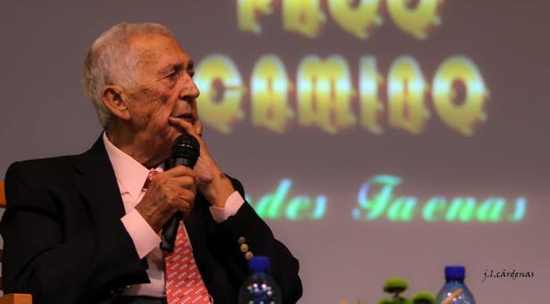 Paco Camino, este jueves en Villaseca de la Sagra
