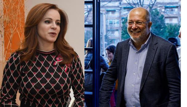 Silvia Clemente y Francisco Igea, los dos favoritos en las primarias de Ciudadanos en Castilla y León
