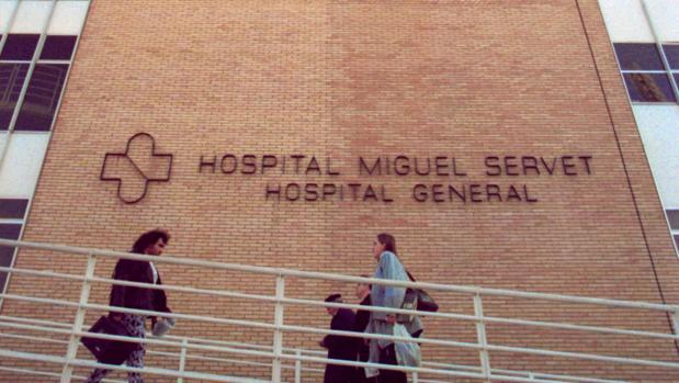 El hombre fue trasladado de urgencia al Hospital Miguel Servet de Zaragoza, donde quedó ingresado