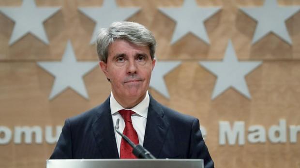 El presidente de la Comunidad de Madrid, Ángel Garrido