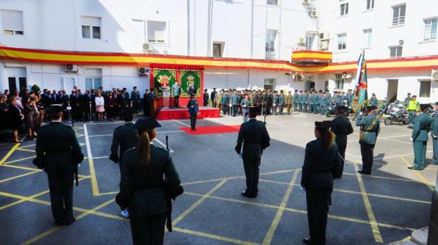 Patio de la Comandancia de la Guardia Civil de Alicante