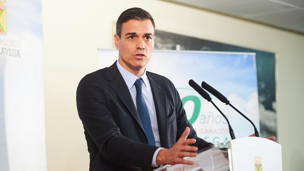 La Moncloa publicó un comunicado falso para salvar la tesis de Pedro Sánchez Pedro-sanchez-kj0G--620x349@abc