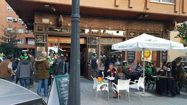 «St. Patrick's Day» en Mulligans, un «irish pub» en Valencia