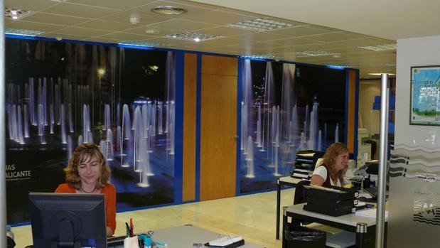 Imagen de las oficinas de Atención al Cliente
