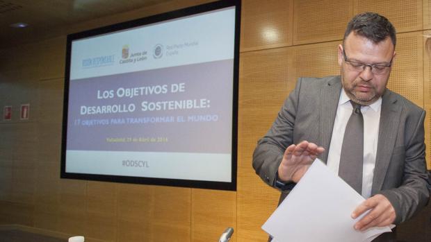 El cabeza de lista de Ciudadanos de Zamora al Congreso de los Diputados, José Antonio Bartolomé