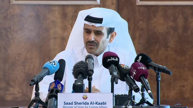 Saad Sherida Al-Kaabi, consejero delegado de Qatar Petroleum