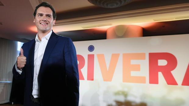 Albert Rviera, presidente de Ciudadanos