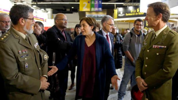 La CUP espolea la campaña contra la presencia del Ejército en el Salón de Enseñanza de Barcelona