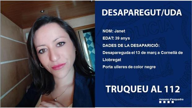 Buscan en Cornellà de Llobregat a una mujer de 39 años desaparecida ...