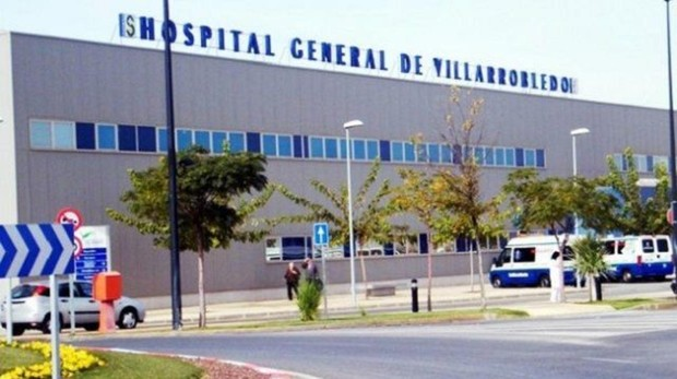 Hospital de Villarrobledo, donde se encuentra el herido en Las Pedroñeras