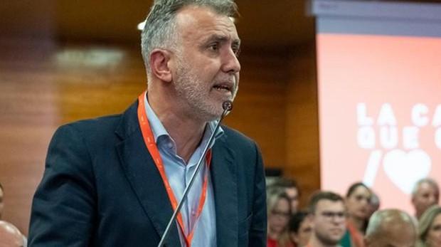 Ángel Víctor Torres, líder del PSOE de Canarias