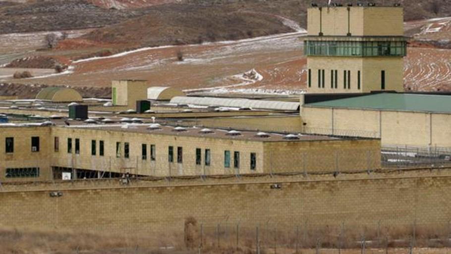 El Gobierno traslada a la cárcel de Daroca a un etarra condenado a 25 años de prisión