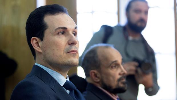 El exsacerdote José Emilio Silvaje, durante el juicio
