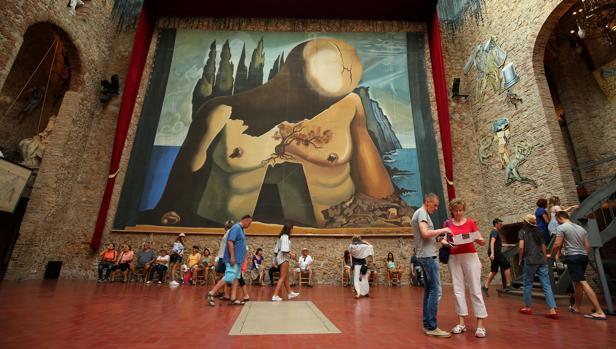 El museo de Figueres recibió el año pasado más de un millón de visitantes