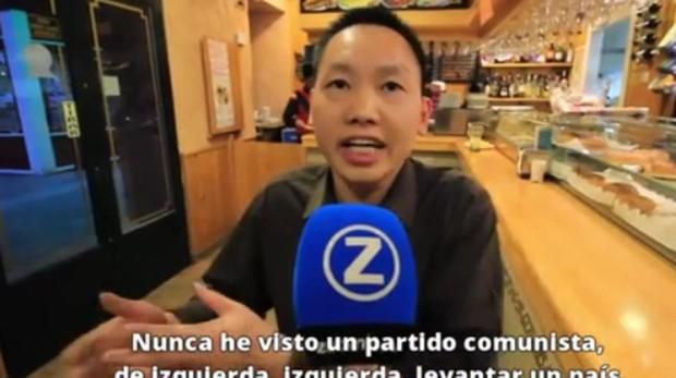 Chen Xiangwei en una entrevista