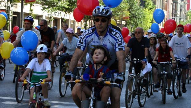 Una de las jornadas de la Fiesta de la Bicicleta
