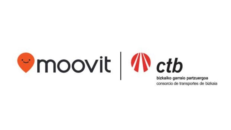 CTB y Moovit se alían para fomentar el uso del transporte público multimodal en Vizcaya