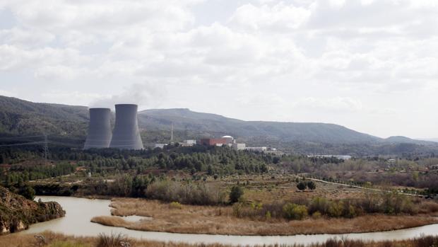 Imagen de archivo de la central nuclear de Cofrentes (Valencia)