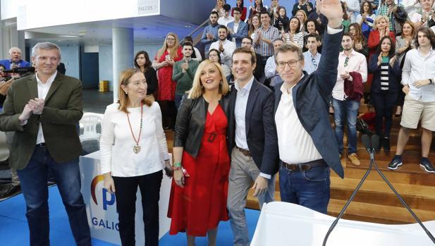 Rueda, Pastor, Muñoz, Casado y Feijóo